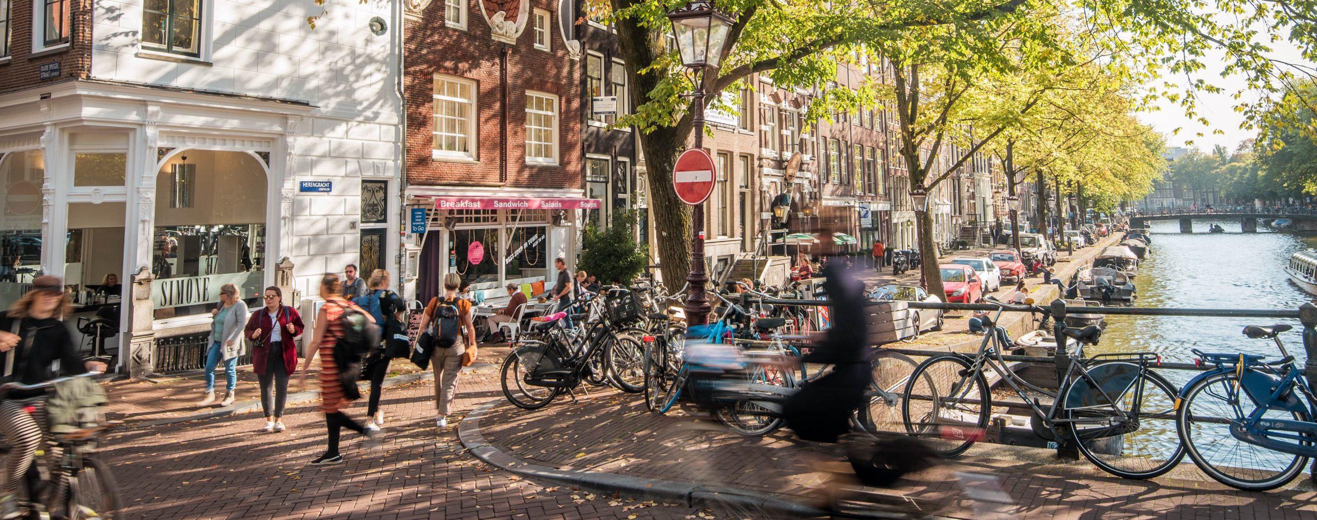 Wielrennen Amsterdam