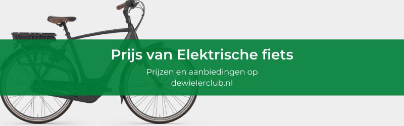 Elektrische fiets aanbieding